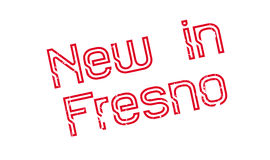 New In Fresno rubber stamp Stock Photography