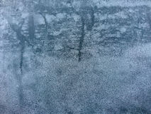 New frost on the window Stock Photography