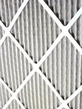 Furnace Air Filter. New micro allergen air filter for home furnace heating Stock Images