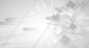 New future technology concept abstract background Royalty Free Stock Photography