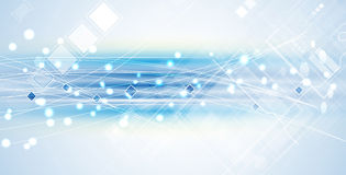 New future technology concept abstract background royalty free illustration
