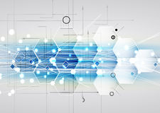 New future technology concept abstract background Stock Images