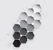 New future technology concept abstract background Royalty Free Stock Photos