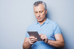 New gadget ? Royalty Free Stock Image