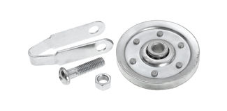 New garage door pulley kit Royalty Free Stock Images