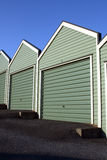 New Garages Stock Photo
