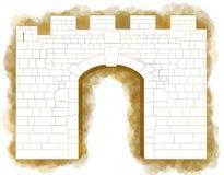 New gate, Jerusalem, Old city Israel Stock Photos