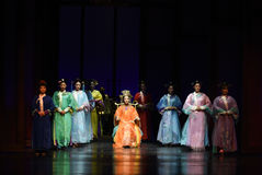 A new generation of the Empress Dowager-death feast-Modern drama Empresses in the Palace Stock Photography