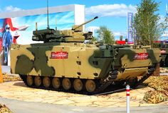 New generation infantry fighting vehicle royalty free stock images