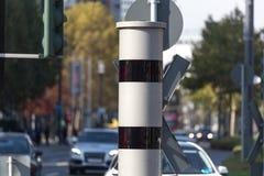 New german speed car camera royalty free stock photo