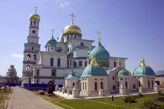 New gerusalem monastery belltower orthodoxy Royalty Free Stock Photography