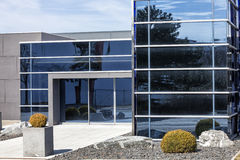 New glass building Royalty Free Stock Images