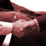 New Global agreement. Global agreement on teh right track Royalty Free Stock Photo