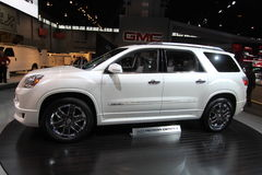New GM Acadia. GM exposition at Chicago auto show 2011 Stock Photos