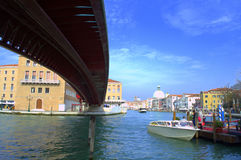 New Grand Canal bridge,Venice Royalty Free Stock Image