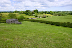 New Grange Pasture Area Royalty Free Stock Image