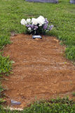 New Grave Stock Photo