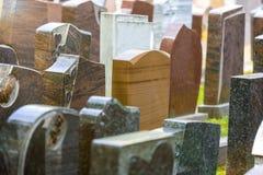 New grave stones Stock Image