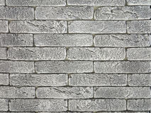 New gray brick wall texture grunge background Stock Photo