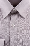 New gray business shirt Royalty Free Stock Photography