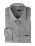 A new gray man's shirt Royalty Free Stock Photography