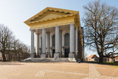 The New Church in the Dutch city of Zierikzee Stock Images