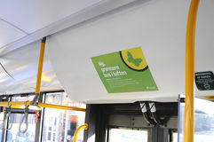 NEW GREEN AIR IN BUS Stock Images