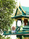 New green spirit house Stock Photo