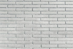 New grey brick wall background texture Royalty Free Stock Photos