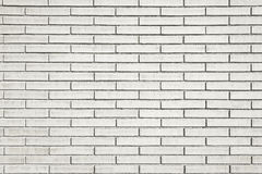 New grey brick wall background texture Stock Photography