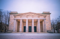 New guardhouse, Berlin, Germany. Neoclassical building in Berlin Royalty Free Stock Image