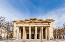 New guardhouse in Berlin. Neoclassical building in Berlin - New guardhouse central Memorial of the Federal Republic of Germany for the Victims of War and Royalty Free Stock Image