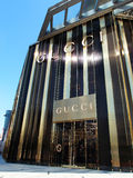 A New Gucci Store in Shanghai Royalty Free Stock Photos