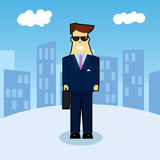 New Guy in Town royalty free illustration