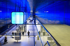 New Hafencity station in Hamburg Stock Image