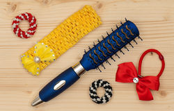 New hair accessories Royalty Free Stock Photography
