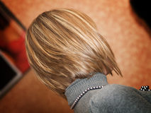 New hairstyle Royalty Free Stock Images