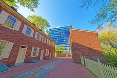 New Hall Military Museum in the Old City in Philadelphia Royalty Free Stock Image