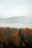 New Hampshire in Autumn. The White Mountains of New Hampshire really brought a stunning beauty to our travels. From low clouds setting the mood to the beautiful stock photography