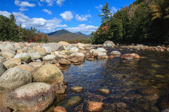 New Hampshire berg royaltyfria bilder