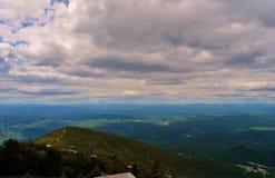 New Hampshire bergsikt Royaltyfri Foto