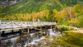 New Hampshire-Brücke Stockbild