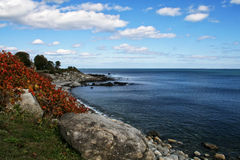 New Hampshire Coastline Royalty Free Stock Photos