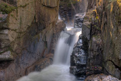 New Hampshire; Sabbaday Falls White Mountains Royalty Free Stock Photography