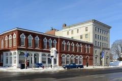 New Hampshire Savings Bank, Concord, NH, USA. New Hampshire Savings Bank on Main Street in downtown Concord, New Hampshire, USA Stock Photos