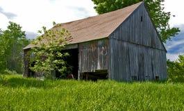 New Hampshire-Scheune, -landwirtschaft und -landwirtschaft Lizenzfreies Stockbild