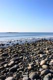 New Hampshire skalista plaża Zdjęcia Stock