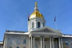 New Hampshire stanu dom, zgoda, NH, usa Zdjęcia Stock