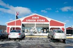 New Hampshire stanu sklep monopolowy na I93 Obraz Stock