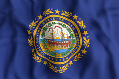 New Hampshire State flag Royalty Free Stock Image